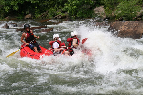 Forsränning Costa Rica